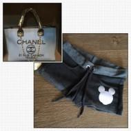 Чанта Chanel + къси панталонки