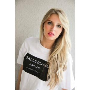 Бяла тениска Ballinciaga