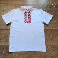 Мъжка тениска с народни мотиви