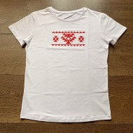 Стилна Мъжка тениска с народни мотиви