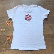 Дамска тениска с народни мотиви