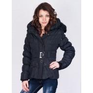 Черно зимно яке Fashion
