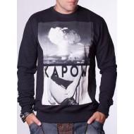 Мъжка блуза Kapow - черна