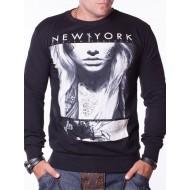 Мъжка блуза New York черна
