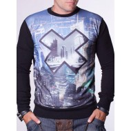 Мъжка блуза Site X - черна