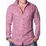 Мъжка риза Chromosome - червена
