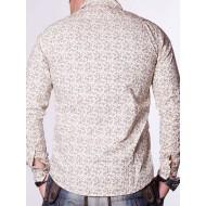 Мъжка риза Spares - бежова