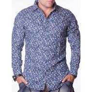 Мъжка риза Y - тъмносиня