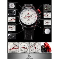 Мъжки часовник Shark 02 бяла комбинация