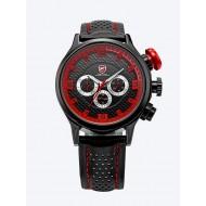 Мъжки часовник Shark 02 червена комбинация