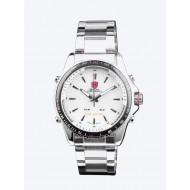 Мъжки часовник Shark 03 LED бял