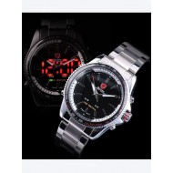 Мъжки часовник Shark 03 LED черен