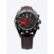 Мъжки часовник Shark 04 червена комбинация