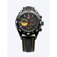 Мъжки часовник Shark 04 жълта комбинация