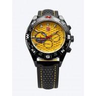 Мъжки часовник Shark 05 жълта комбинация