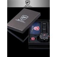Мъжки часовник Shark 06 червен комбинация