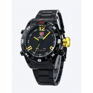 Мъжки часовник Shark 06 жълта комбинация