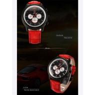 Мъжки часовник Shark 10 червен
