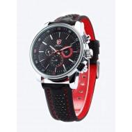 Мъжки часовник Shark 11 червен