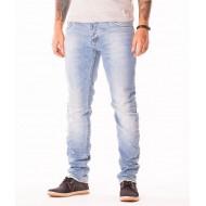 Мъжки дънки X3 Jeans Work светъл деним