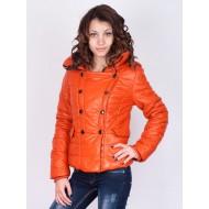 Оранжево зимно яке Jump