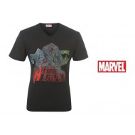 Marvel Character T Shirt Mens