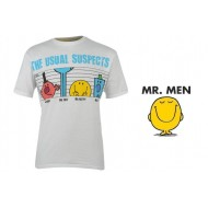 Mr Men Printed T Shirt Mens Colour Suspects