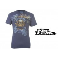 No Fear Colour Crew T Shirt Mens Colour Denim Blue